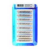 Rechargeable Battery Panasonic Eneloop BK-4MCCE/8LE 750 mAh size AAA Ni-MH 1.2V Τεμ. 8