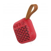 Wireless Speaker Bluetooth Hoco BS22 Red with IPX4 Protection, supports Micro USB and T-Flash Card