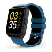 Maxcom Smartwatch FitGo FW15 Square IPX54 Blue Silicon Band