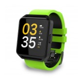 Maxcom Smartwatch FitGo FW15 Square IPX54 Green Silicon Band