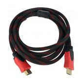 Data Rugged Cable Jasper HDMI 1.4 A Male To A Male Gold Plated Copper 3m Black