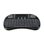 Wireless Keyboard Mobilis Backlit for Smartphone, Tablet, PC, και SmartTV Black