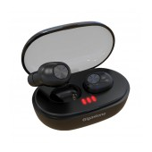True Wireless Bluetooth Gigastone T1 with Charging and Carrying Case IPX5 V.5.0 Black