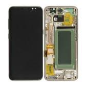 Original LCD & Digitizer Samsung SM-G950F Galaxy S8 Gold GH97-20457F GH97-20473F