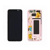 Original LCD & Digitizer Samsung SM-G950F Galaxy S8 Pink GH97-20457E