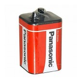Manganese Battery Zinc Carbon Panasonic 4R25RZ/B 6V Pcs, 1