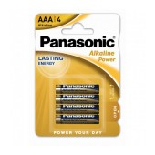Battery Alkaline Panasonic Alcaline Power LR03APB/1BP size AAA 1.5V Pcs, 4