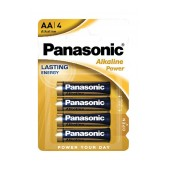 Battery Panasonic Panasonic Alcaline Power LR6APB/4BP size AA 1.5 V Psc. 4