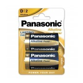 Battery Panasonic Alcaline Power LR20APB/2BP size D Pcs. 2