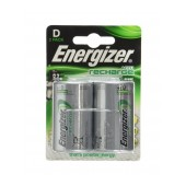 Rechargeable Battery Energizer ACCU Recharge Power Plus HR20 2500 mAh size D 1.2V Pcs 2