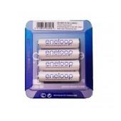 Rechargeable Battery Panasonic Eneloop BK-4MCCE/4LE 750 mAh size AAA Ni-MH 1.2V Τεμ. 4