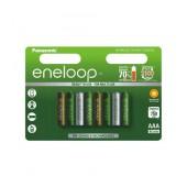 Rechargeable Battery Panasonic Eneloop Tones Botanic BK-4MCCE/8TE 750 mAh size AAA Ni-MH 1.2V Τεμ. 8