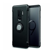 Case Ancus Armor Ring Stand for Samsung SM-G965F Galaxy S9+ Black