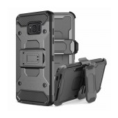 Case Ancus Armor Stand with Belt Clip for Samsung SM-G965F Galaxy S9+ Black