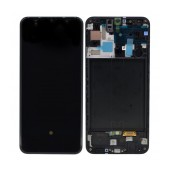 Original LCD & Digitizer Samsung SM-A505 Galaxy A50 Black GH82-19204A; GH82-19713A