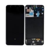 Original LCD & Digitizer Samsung SM-A505 Galaxy A50 Black GH82-19204A