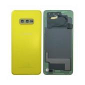 Battery Cover Samsung SM-G970F Galaxy S10e Yellow Original GH82-18452G