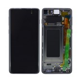Original LCD & Digitizer Samsung SM-G973F Galaxy S10 Black GH82-18850A