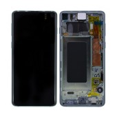 Original LCD & Digitizer Samsung SM-G973F Galaxy S10 White GH82-18850B