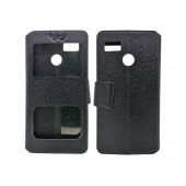 Book Case S-View Ancus Stick it F Series for Hisense F17 / F17 Pro Black