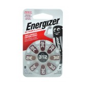 Hearing Aid Batteries Energizer EZ Turn & Lock 312 1.4V Pcs. 8