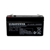 Battery for UPS Europower (6V 1.2Ah) 300g 56x97x25mm