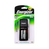 Battery Charger Energizer ACCU Recharge Mini with AA/AAA with 2 ΑΑ Batteries Included