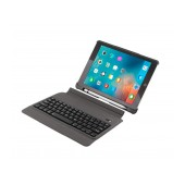 Book Magnetic Case Body Glove Black with Bluetooth Keyboard for Apple iPad 9.7