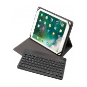 Book Magnetic Case Body Glove Black with Bluetooth Keyboard Universal 9