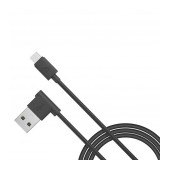 Data Cable Hoco UPM10 L Shape USB to Micro-USB Fast Charging Black 1.2 m.