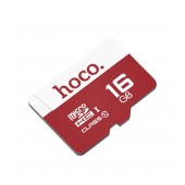 Flash Memory Card Hoco MicroSDHC 16GB Class 10