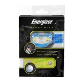 Energizer Sport Pack 100 Lumens with Batteries 3 x AAA and LED Armband Blue