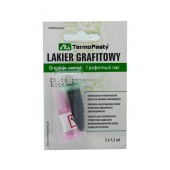 Graphite Varnish TermoPasty Lakier Grafitowy 2 X 1.5 ml Suitable for PCB