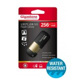 USB 3.0 Gigastone Flash Drive U307S 256GB Black Professinal Series Metal Frame