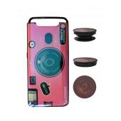 TPU Case Ancus Fashion with Pop Base for Samsung SM-A805F Galaxy A80 Pink