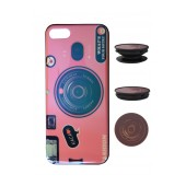 TPU Case Ancus Fashion with Pop Base for Apple iPhone 7 / 8 / SE (2020) Pink