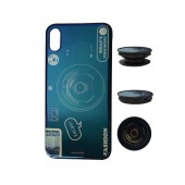 TPU Case Ancus Fashion with Pop Base for Apple iPhone XS Max Blue
