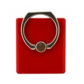 Mobile Stand 360° Rotating Ring for Smartphones Red 3.5 x 4 cm