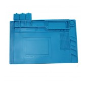 Antistatic Pad for Workbench S-160 with Magnetic Frames Blue 45x30cm