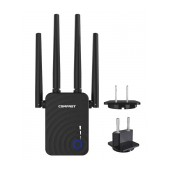 Wifi Repeater / Extender Dual Band Hi-Speed Comfast CF-WR754AC 1200Mbps with Four External Antennas