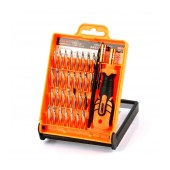 Screwdriver Jakemy JM-8101 33 pcs Set. Star, Philips, Triangle. Includes Tweezer