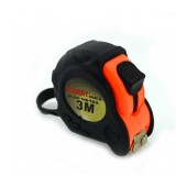 Tape Measure Jakemy JM-R0403 with Rubber Coated with Stop Button 3 m.