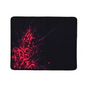 Waterproof Gaming Mousepad Red Flames Rubber Black (22 x 18 cm)