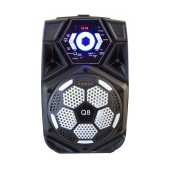 Portable Speaker Trolley Q8 35W DC5V Black withTF Card, USB, 3.5mm Ports