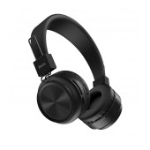 Wireless Stereo Headphone Hoco W25 Promise Black with microphone