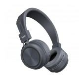 Wireless Stereo Headphone Hoco W25 Promise Grey with microphone