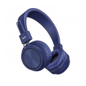Wireless Stereo Headphone Hoco W25 Promise Blue with microphone