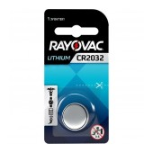 Buttoncell Lithium Rayovac CR2032 3V Pcs. 1