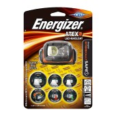 Energizer ATEX Headlight Led 75 Lumens with Batteries 3 x AA Orange