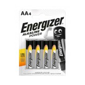 Battery Alkaline Energizer Alkaline Power LR6 size AA 1.5V Pcs. 4